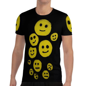 NEW: R. Wolff Smileys SØ19 all-over athletic t-shirt