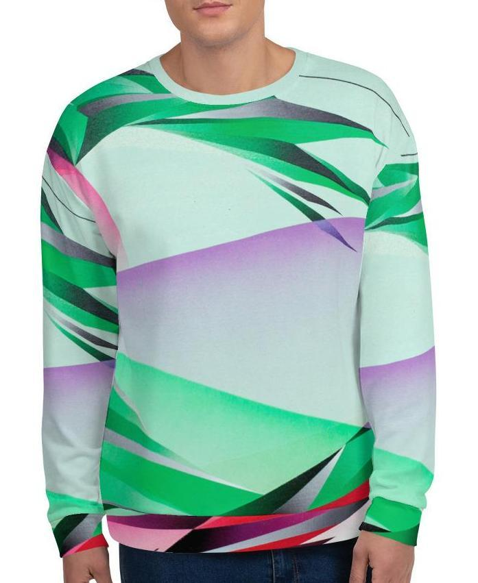 A. Platkovsky City Lights 03 unisex all-over sweatshirt