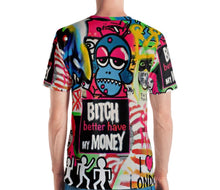 Load image into Gallery viewer, Mr. Kling The thief all over print men's t-shirt from #Artit - urban artwear