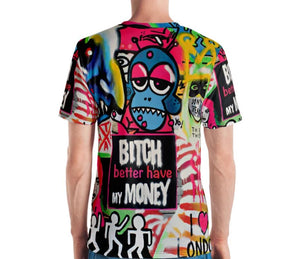 Mr. Kling The thief all over print men's t-shirt from #Artit - urban artwear