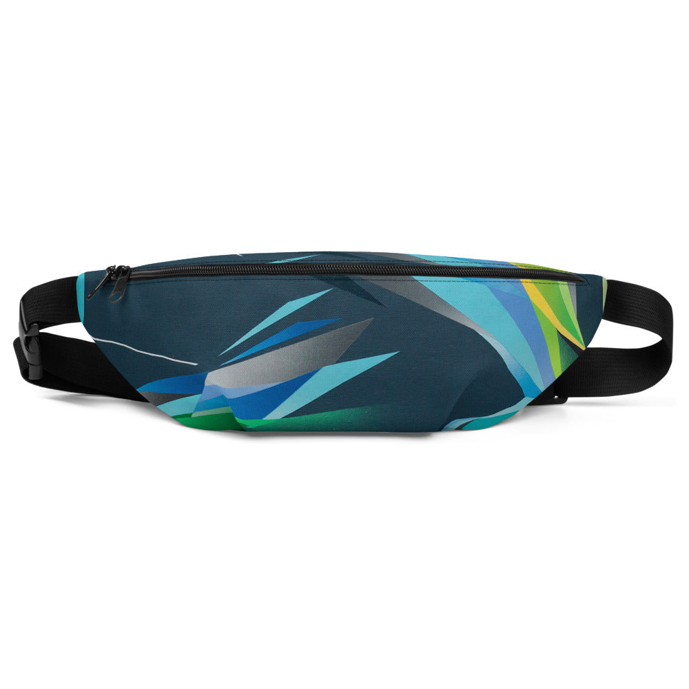 A. Platkovsky City Lights 10 all-over fanny pack