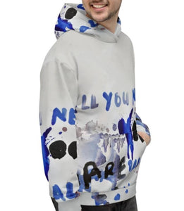 Luanne May All you need are balls hoodie from #ArtIt - urban artwear