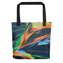 Load image into Gallery viewer, #ArtIt- urban artwear making streetwear out of contemporary art: Adrian Platkovsky all over print tote bag delivered on demand