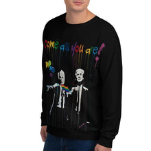 Load image into Gallery viewer, Mr. Kling Come as you are all-over unisex sweatshirt