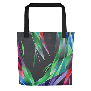 #ArtIt- urban artwear making streetwear out of contemporary art: Adrian Platkovsky all over print shopping bag delivered on demand