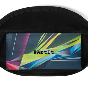 A. Platkovsky City Lights 08 all-over fanny pack