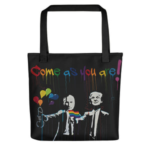 Mr. Kling Come as you are all-over tote bag