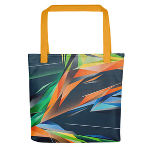 A. Platkovsky City Lights 06 all-over tote bag