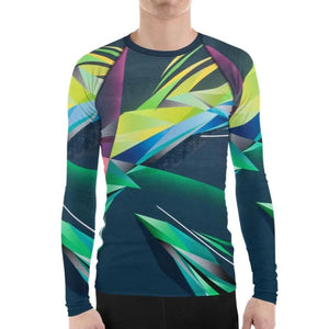 #ArtIt- urban artwear making streetwear out of contemporary art: Adrian Platkovsky all over print rash guard longsleeve delivered on demand