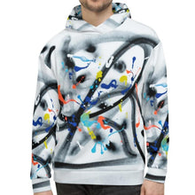Load image into Gallery viewer, French street artist jp.carp all over print hoodie 06 for #ArtIt - urban artwear