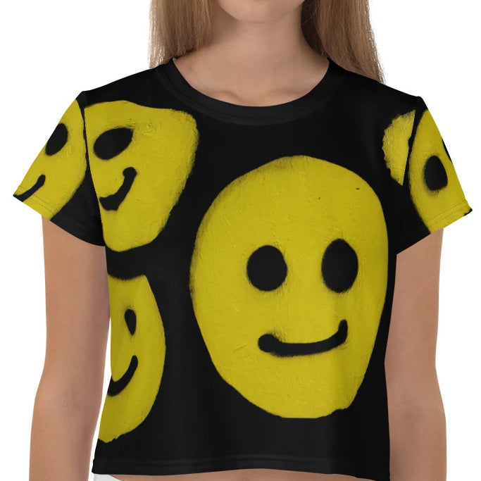 NEW: R. Wolff Smiley SØ19 all-over crop tee