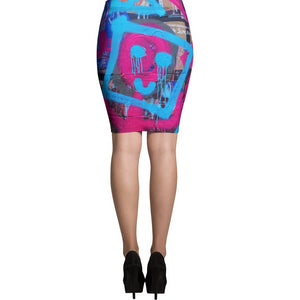 Luanne May Are friends electric? SØ19 pencil skirt