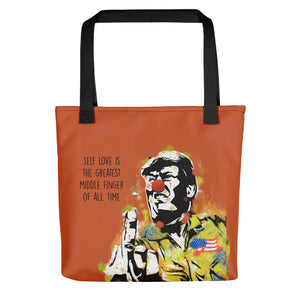 Mr. Kling Self love all-over tote bag