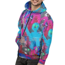 Load image into Gallery viewer, Luanne May Are Friends Electric? II SØ19 all-over unisex hoodie
