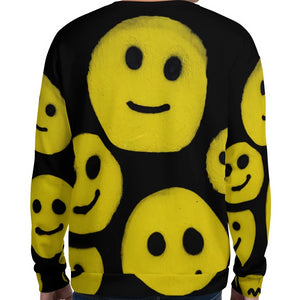 R. Wolff Smiley SØ19 all-over unisex sweatshirt