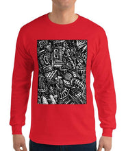 Load image into Gallery viewer, Emil Ellefsen Noise 100% cotton longsleeve