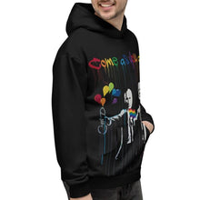 Load image into Gallery viewer, Mr. Kling Come as you are all-over unisex hoodie
