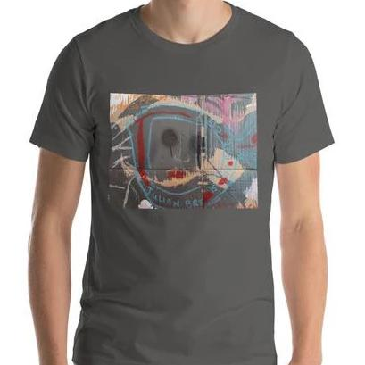 Luanne May Through the looking-glass and what Julian found there unisex 100% cotton t-shirt
