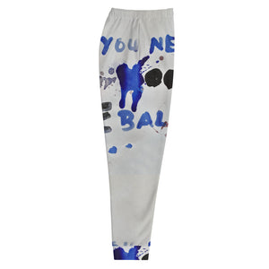 Luanne May All you need are balls all-over joggers