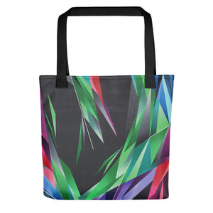 #ArtIt- urban artwear making streetwear out of contemporary art: Adrian Platkovsky all over print tote bag delivered on demand