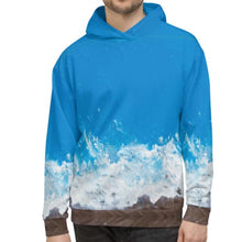 Load image into Gallery viewer, NEW: Jane Indigo 09 all-over unisex hoodie