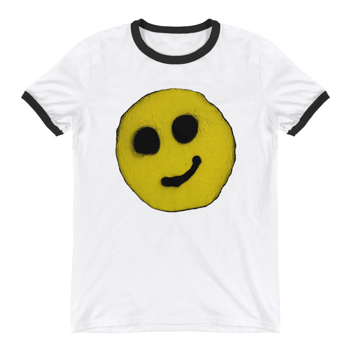NEW: R. Wolff Modest smiley SØ19 - or style your own! 100% cotton ringer t-shirt