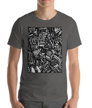 Load image into Gallery viewer, Emil Ellefsen Noise short-sleeve 100% cotton t-shirt