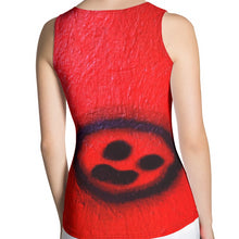 Load image into Gallery viewer, R. Wolff Breakdown smiley SØ19 all-over tank top