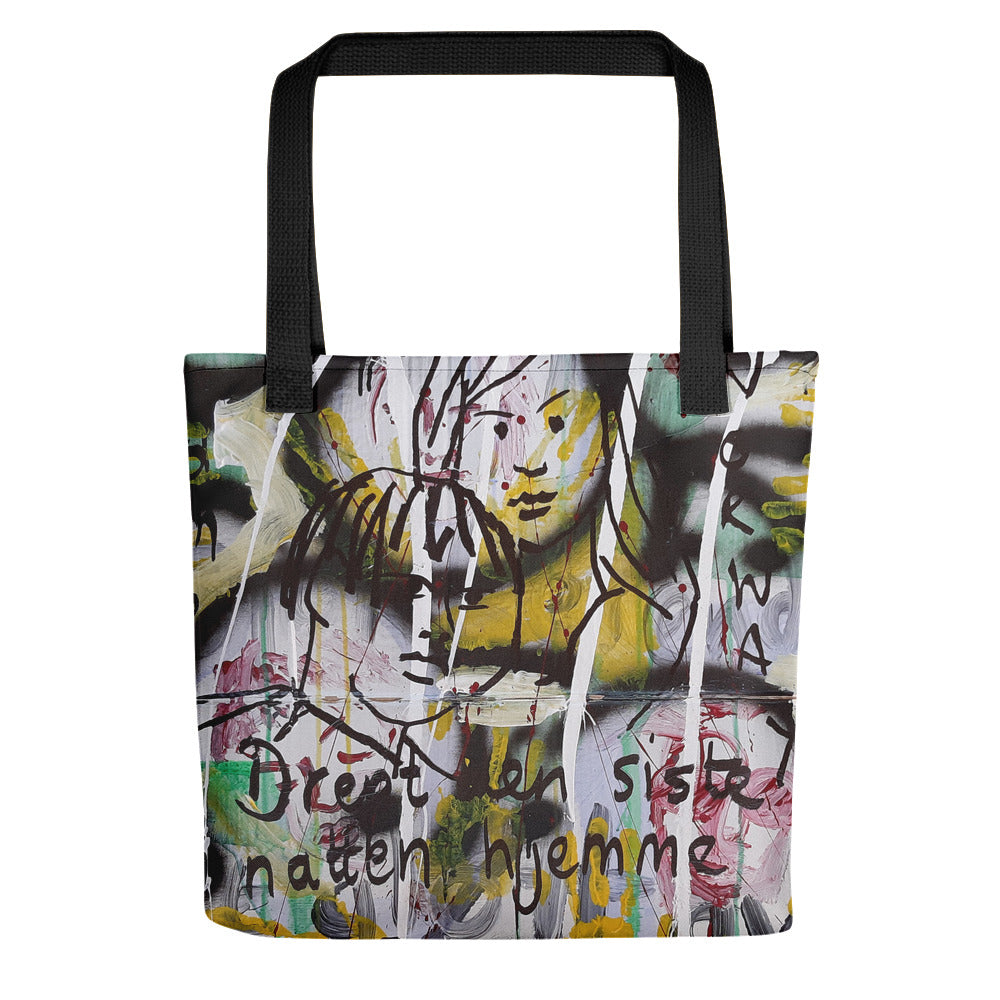 #ArtIt- urban artwear making streetwear out of contemporary art: Luanne May all over print tote bag delivered on demand