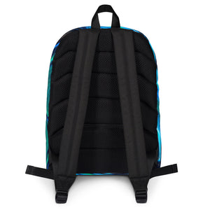 Jane Indigo 06 all-over backpack