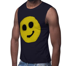 Load image into Gallery viewer, R. Wolff Smiley SØ19 sleeveless unisex 100% cotton t-shirt