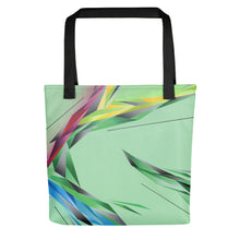 Load image into Gallery viewer, #ArtIt - urban artwear, making streetwear out of contemporary art: A. Platkovsky all over printed tote bag delivered on demand