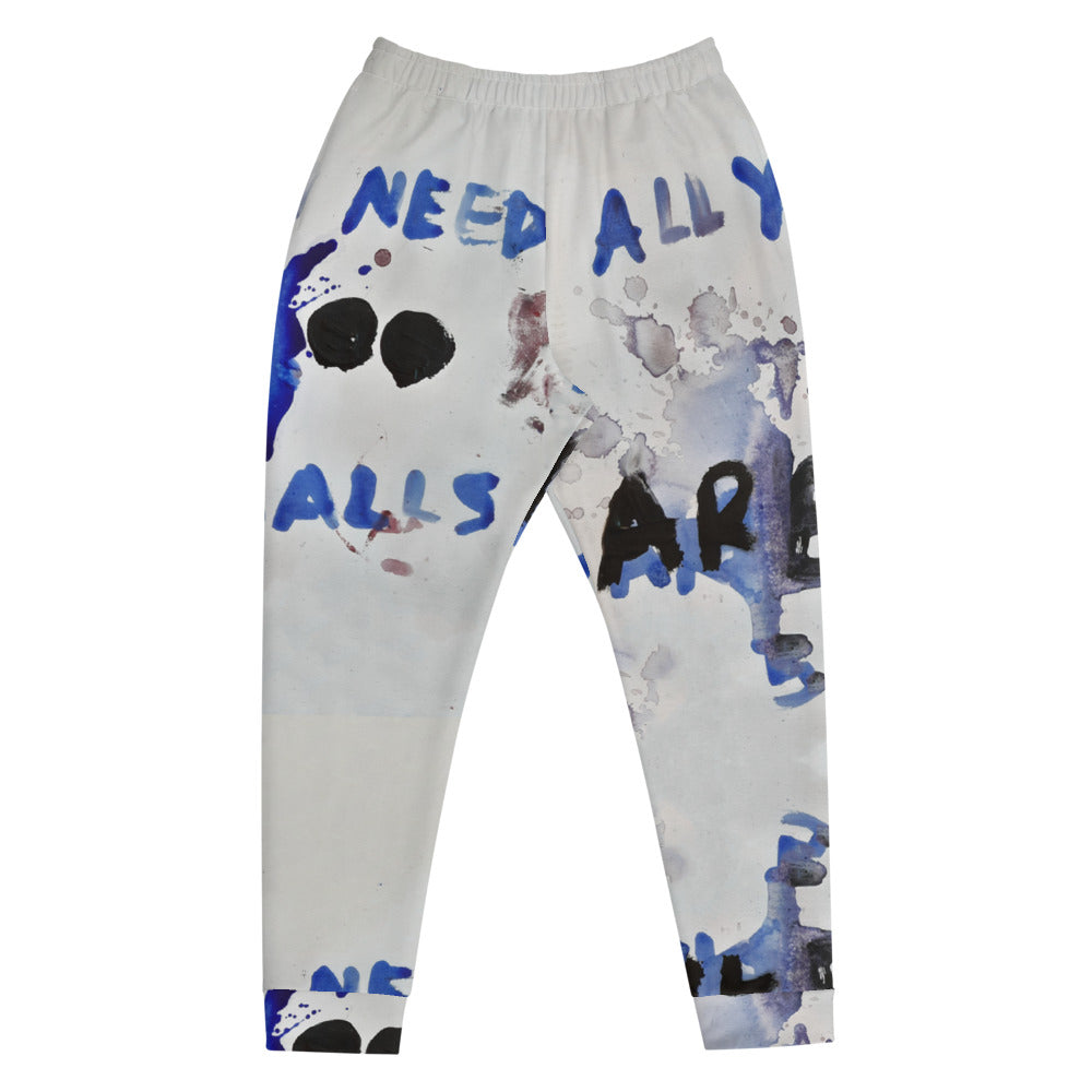 Luanne May All you need are balls joggers from #ArtIt - urban artwear