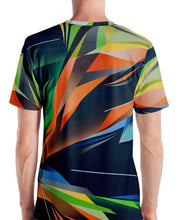 Load image into Gallery viewer, #ArtIt- urban artwear making streetwear out of contemporary art: Adrian Platkovsky all over print t-shirt delivered on demand