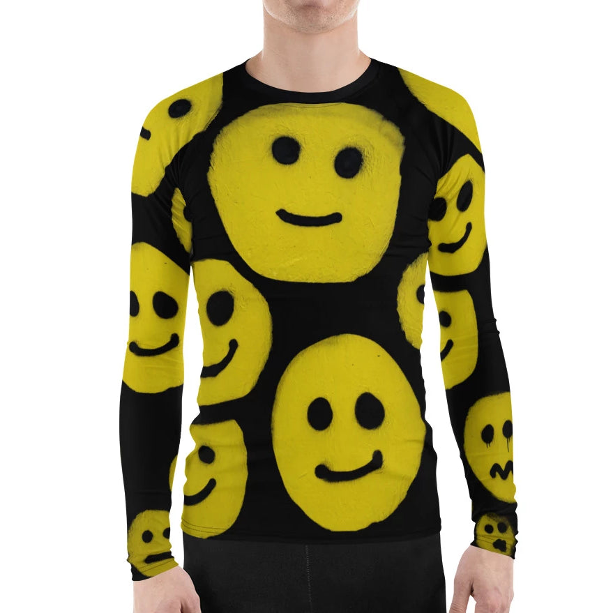 NEW: R. Wolff Smiley SØ19 all-over sporty longsleeve