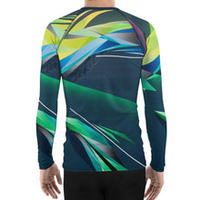 Load image into Gallery viewer, #ArtIt- urban artwear making streetwear out of contemporary art: Adrian Platkovsky all over print rash guard longsleeve delivered on demand