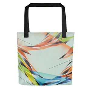 #ArtIt- urban artwear making streetwear out of contemporary art: Adrian Platkovsky print on demand tote bag