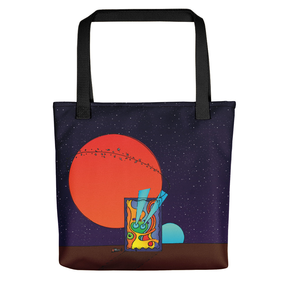 NEW: Graphwhale 01 all-over tote bag