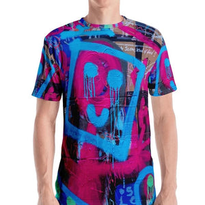 #ArtIt- urban artwear making streetwear out of contemporary art: Luanne May all over t-shirt delivered on demand