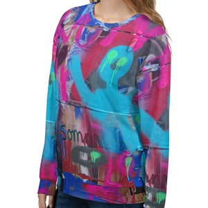Luanne May Are friends electric? II SØ19 all-over unisex sweatshirt