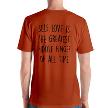 Load image into Gallery viewer, Mr. Kling Self Love all-over t-shirt