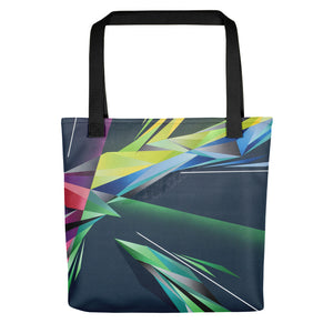 A. Platkovsky City Lights 08 all-over tote bag