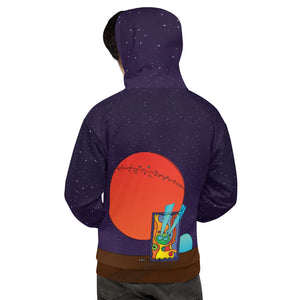 NEW: Graphwhale 01 all-over unisex hoodie