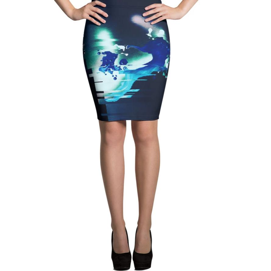 All over printed skirt by jp.carp for #ArtIt - urban artwear