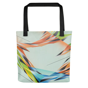 A. Platkovsky City Lights 05 all-over tote bag