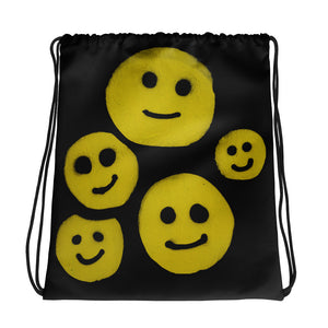 R. Wolff Smileys SØ19 all-over drawstring bag