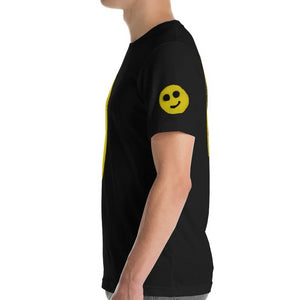 NEW: R. Wolff Modest smiley SØ19 unisex 100% cotton t-shirt w/print on four sides