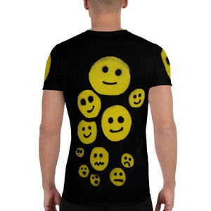 R. Wolff Smileys SØ19 all-over athletic t-shirt