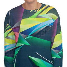 Load image into Gallery viewer, #ArtIt- urban artwear making streetwear out of contemporary art: Adrian Platkovsky all over print sweatshirt delivered on demand