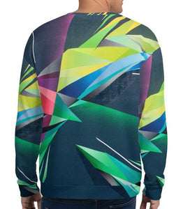A. Platkovsky City Lights 08 unisex all-over sweatshirt